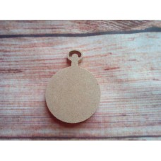 4mm MDF Fob Watch 50mm